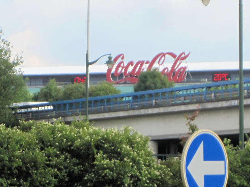 They have Coke and Coke Light too