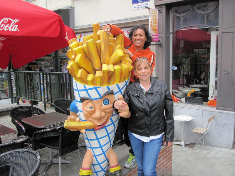 The western Europeans never met a potato that they didn't want to French Fry.