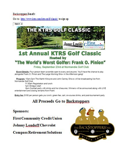 ktrs golf tournment